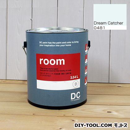 【送料無料】DCペイント かべ紙に塗る水性塗料Room(室内壁用ペイント) 【0481】Dream Catcher 約3.8L