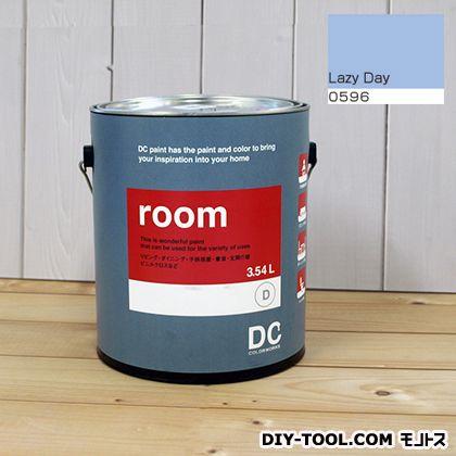 【送料無料】DCペイント かべ紙に塗る水性塗料Room(室内壁用ペイント) 【0596】Lazy Day 約3.8L