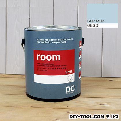 【送料無料】DCペイント かべ紙に塗る水性塗料Room(室内壁用ペイント) 【0630】Star Mist 約3.8L