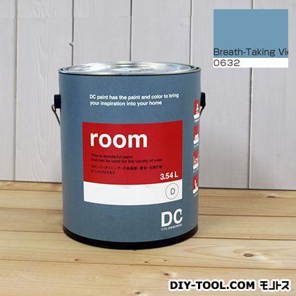 【送料無料】DCペイント かべ紙に塗る水性塗料Room(室内壁用ペイント) 【0632】Breath-Taking View 約3.8L
