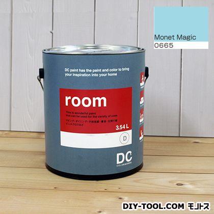 【送料無料】DCペイント かべ紙に塗る水性塗料Room(室内壁用ペイント) 【0665】Monet Magic 約3.8L