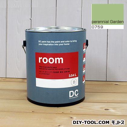 【送料無料】DCペイント かべ紙に塗る水性塗料Room(室内壁用ペイント) 【0759】Perennial Garden 約3.8L
