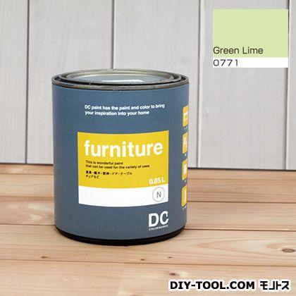 DCペイント 木製品や木製家具に塗る水性塗料Furniture(家具用ペイント) 【0771】Green Lime 約0.9L