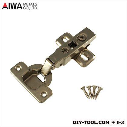 アイワ金属(AIWA) ブルムスライド蝶番(丁番)ワンタッチ全かぶせキャッチ付 35mm AP-1051C
