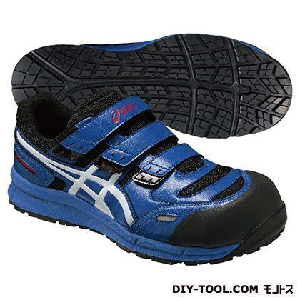 【送料無料】アシックス ウィンジョブ CP102 作業用靴 23.5cm 青 FCP102.4201 23.5 1点