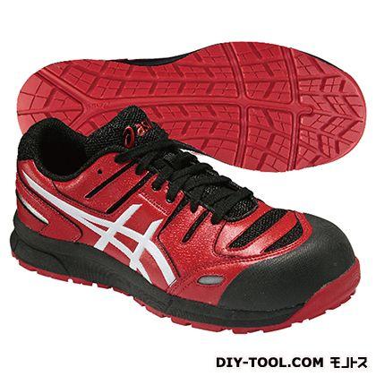 【送料無料】アシックス ウィンジョブ CP103 作業用靴 レッド×ホワイト 23.5cm FCP103.2301 23.5 1