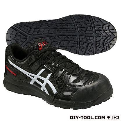 【送料無料】アシックス ウィンジョブ CP103 作業用靴 ブラック×ホワイト 29cm FCP103.9001 29.0