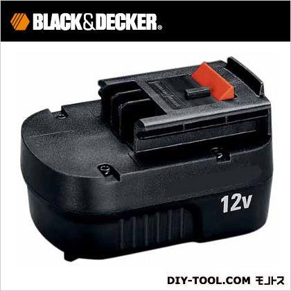 ブラック&デッカー 高容量12Vスライド式バッテリーパック・電池パック(1.7ah) A12EX