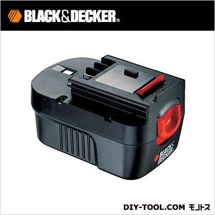 ブラック&デッカー 高容量14.4V充電池スライド式バッテリーパック・充電池充電池(1.7Ah) A144EX