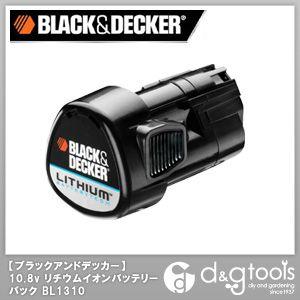 ブラック&デッカー B/D10.8Vリチウム電池 60 x 54 x 91 mm BL1310