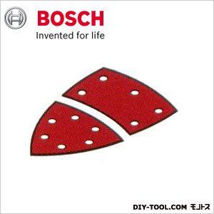 ボッシュ サンディングペーパー:マジック式(吸じん用穴あき)フルセット 赤:軟硬木材・金属用 #80 2608607408 10枚入