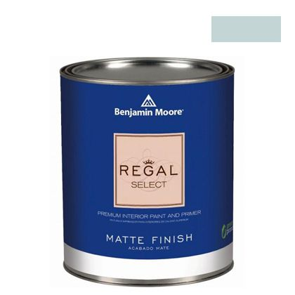 【送料無料】ベンジャミンムーアペイント リーガルセレクトマット艶消しエコ水性塗料 english hyacinth 4L G221-1417  水性塗料塗料