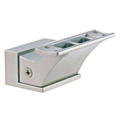 オーバル手摺用ブラケットL型 パールシルバー  655-LNB