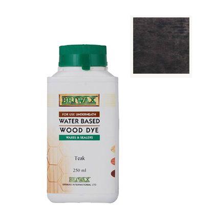 ウォーター・ベースド・ウッドダイ水性ステイン剤 ブラック 250ml 74001000618