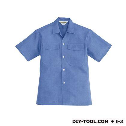 バートル アロハシャツ ブルー LL 7200A