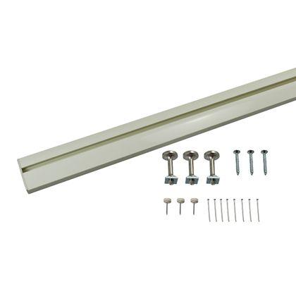 スリムレールフック ホワイト W×D(mm):400×110 MR-414 1 セット