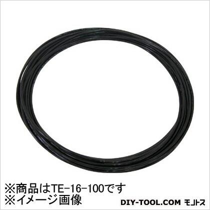 TEタッチチューブBK(黒)16mm/100m黒   TE-16-100 BK