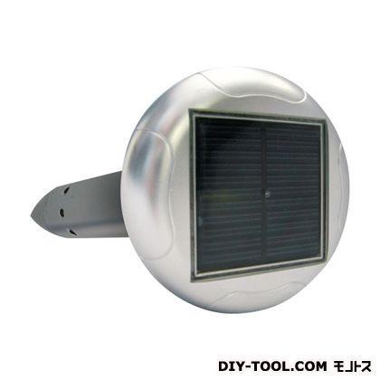 ハイパワー・ソーラーもぐら防除器(可変式) グリーン φ120mm×高さ400mm