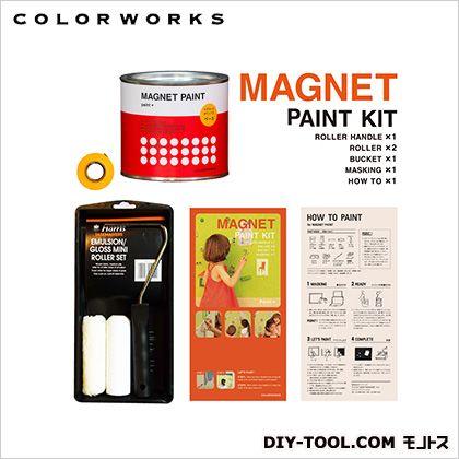 マグネットペイントセット(マグネットがつく塗料)   7467500