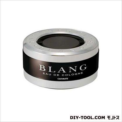 カーメイト ブラングソリッドホワイトムスク芳香剤 シルバー H39×W77×D77(mm) G11