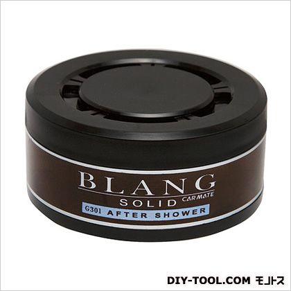 カーメイト ブラングソリッド詰め替えアフターシャワー芳香剤 ブラック H68×W68×D33(mm) G301
