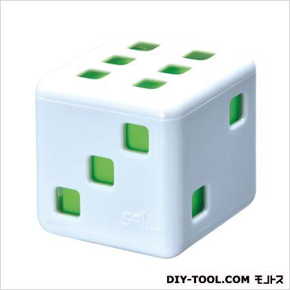 サイサイリラックス芳香剤 ホワイト/ライトグリーン H55×W55×D55(mm) G791