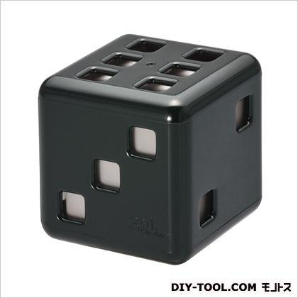 カーメイト サイサイムスク芳香剤 ブラック/グレー H55×W55×D55(mm) G792