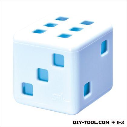 サイサイスカッシュ芳香剤 ホワイト/ライトブルー H55×W55×D55(mm) G793