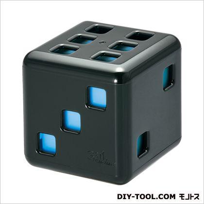 カーメイト サイサイナイト芳香剤 ブラック/ブルー H55×W55×D55(mm) G796