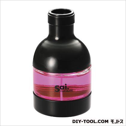 カーメイト サイボトルサイベリー芳香剤 ピンク H108×W61×D61(mm) L334