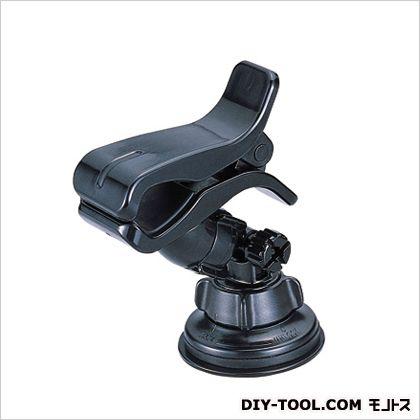 カーメイト スマホルダークリップ&吸盤スマートフォンホルダー ブラック H120×W60×D100(mm) ME57