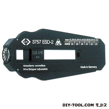 【送料無料】C.KTools ESD対応精密ワイヤーストリッパー 横9.5cm T3757ESD