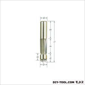 大日商 木工ビット超硬1段(片面)フラッシュビット12×12 1F1212