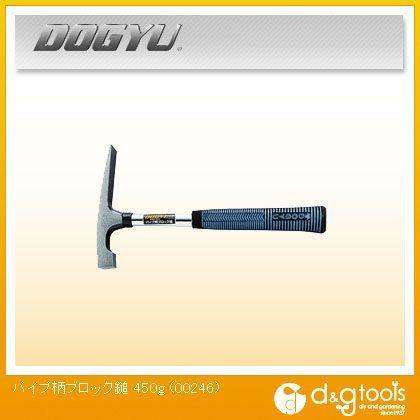 DOGYUパイプ柄ブロック鎚450g   00246