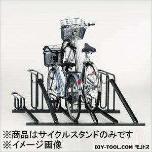自転車ラックサイクルスタンド6台収容  W1680×D1613×H600mm KSD286