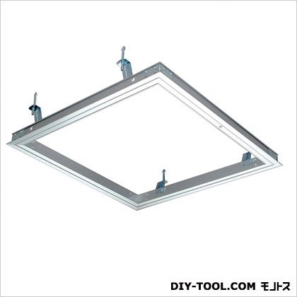 天井点検口シーリングハッチ額縁タイプ454×454 シルバー  CDL45J