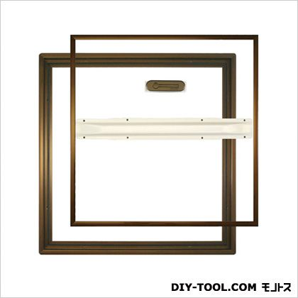 ホーム床下点検口 ブロンズ 48×3.3×48cm HDCB45