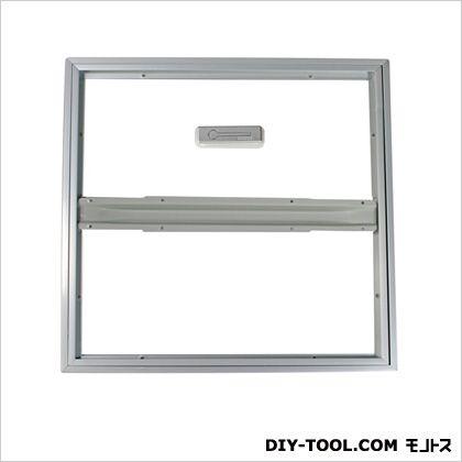 ホーム床点検口超廉価スタンダードタイプ シルバー 46.2×2.4×46.2cm HDE45S