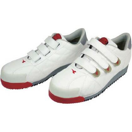 ディアドラ DIADORA安全作業靴アイビス白24.5cm 24.5cm IB-11