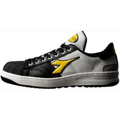 ディアドラ デイアドラ作業靴黒/黄/白24.5cm 24.5cm KW-251