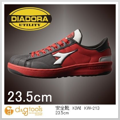 ディアドラ 安全靴KIWI 23.5cm KW-213