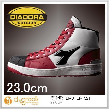 ディアドラ 安全靴EMU 23.0cm EM-321