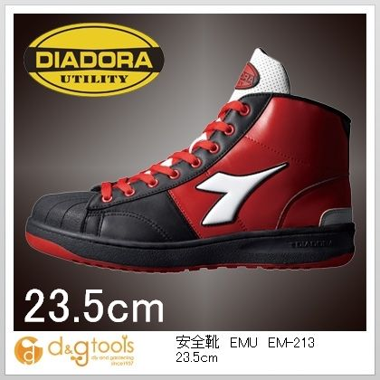 ディアドラ 安全靴EMU 23.5cm EM-213