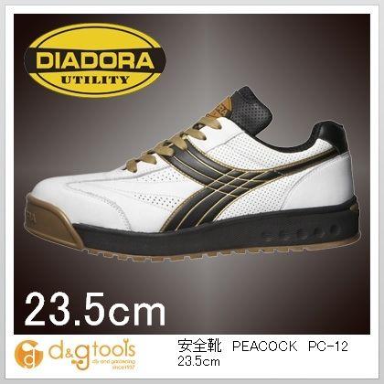 ディアドラ 安全靴PEACOCK 23.5cm PC-12