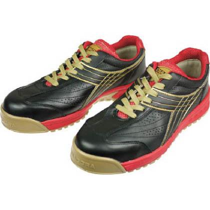 ディアドラ DIADORA安全作業靴ピーコック黒24.5cm 24.5cm PC-22