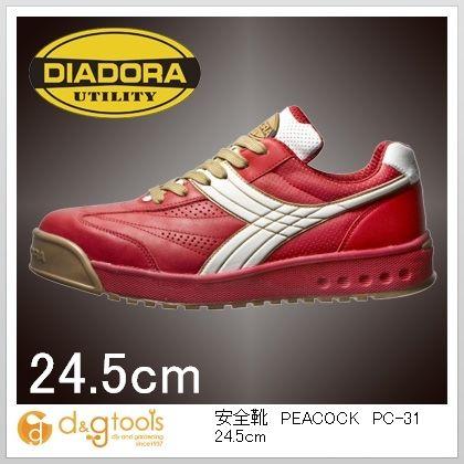 ディアドラ 安全靴PEACOCK 24.5cm PC-31