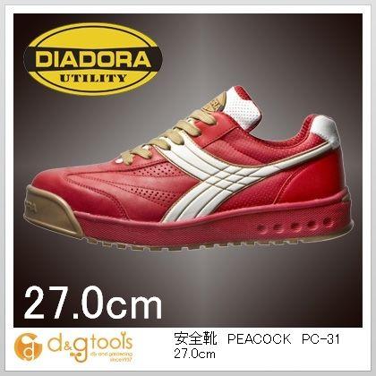 ディアドラ 安全靴PEACOCK 27.0cm PC-31