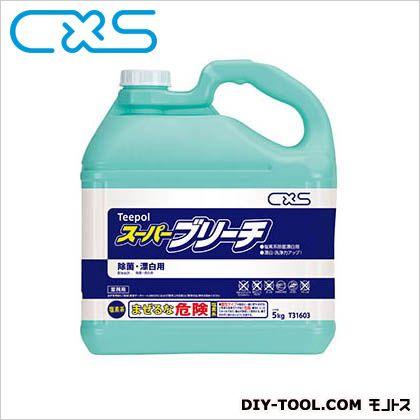 塩素系除菌漂白剤スーパーブリーチ  5L  T31603 1 本