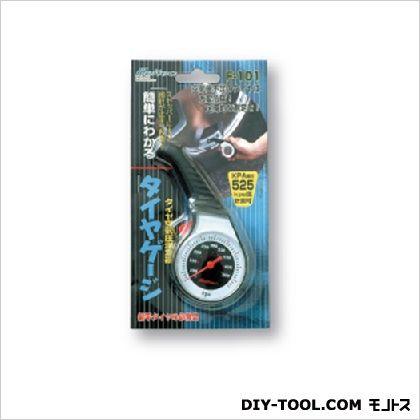 タイヤゲージアナログタイプ  約50(W)×112(H)×25(D)mm 0301F-101