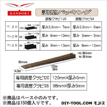 ダンドリビス 調整パッキング ベース小 10号 448-D-268 150個